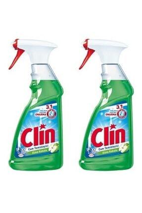 Clin Cam Temizleyici Elma Kokulu 500 ml 2 Li