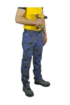 Uniprom Outdoor Dağcı Avcı Iş Pantolonu Kamuflaj Desen Avrupa Model