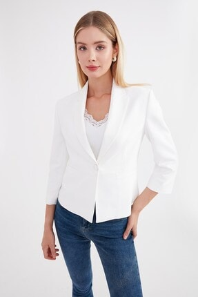 Journey Kadın Beyaz Ceket