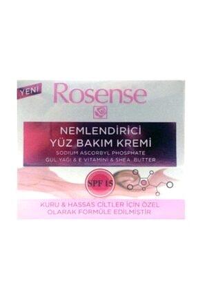 Rosense Nemlendirici Yüz Bakım Kremi Spf 15 50 ml