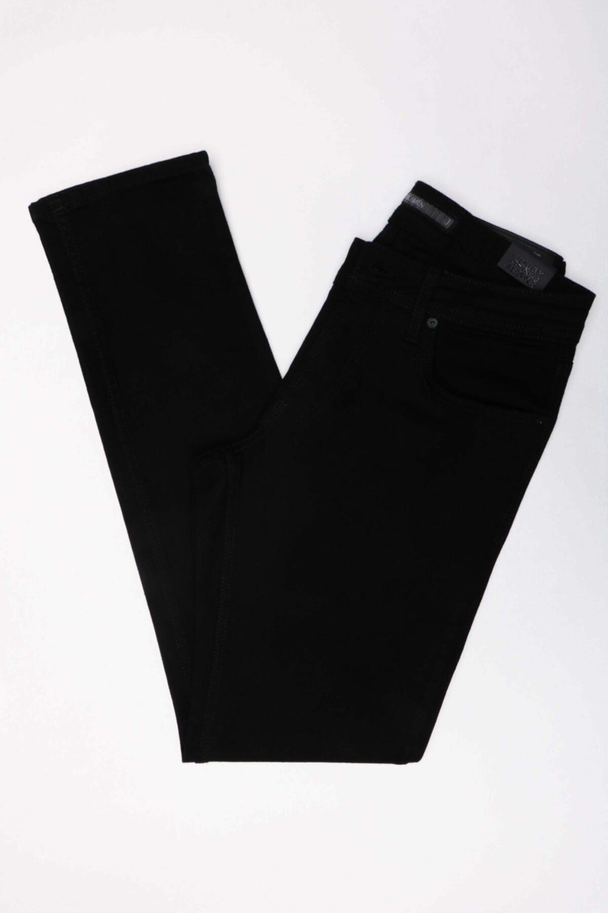 Jakamen Erkek Siyah Slim Beş Cep Jean Pantolon-01 Jk32sf43m025 1