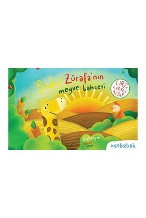Neobebek Bodur Zürafa'nın Meyve Bahçesi - Cırt Cırtlı Hikaye Kitabı