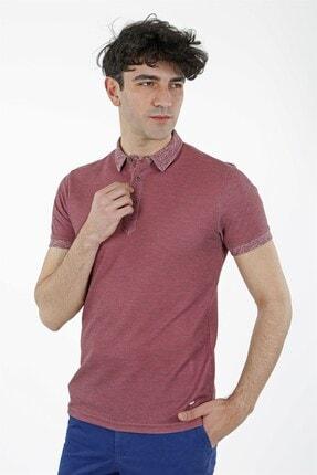Jakamen Gül Kurusu Slim Fit T-shirt Polo Yaka