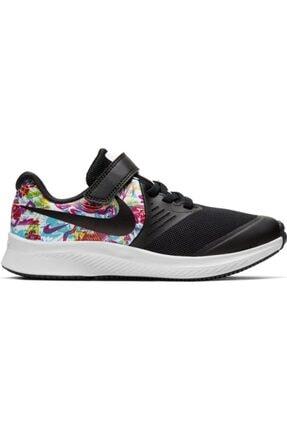 Nike Kız Çocuk Siyah Star Runner 2 Fable Yürüyüş Ayakkabısı