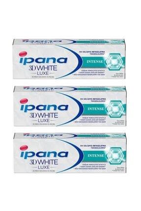 İpana 3d White Luxe Intense Diş Macunu 75ml 3 Adet
