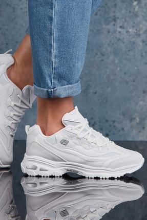 DARK SEER Beyaz Kadın Sneaker DS.MJ1901