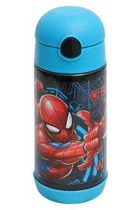 Frocx Örümcek Adam Erkek Çocuk Çelik Matara Suluk Spider Man 350 Ml