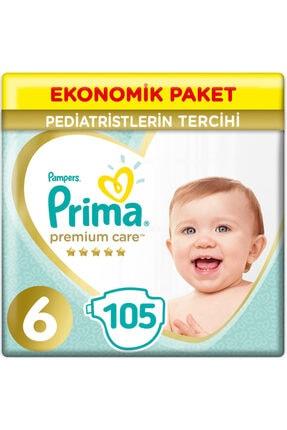 Prima Bebek Bezi Premium Care 6 Beden 13+ Kg (3*35) 105 Adet