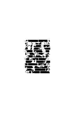 Cadence Duvar Stencil (şablon) A4