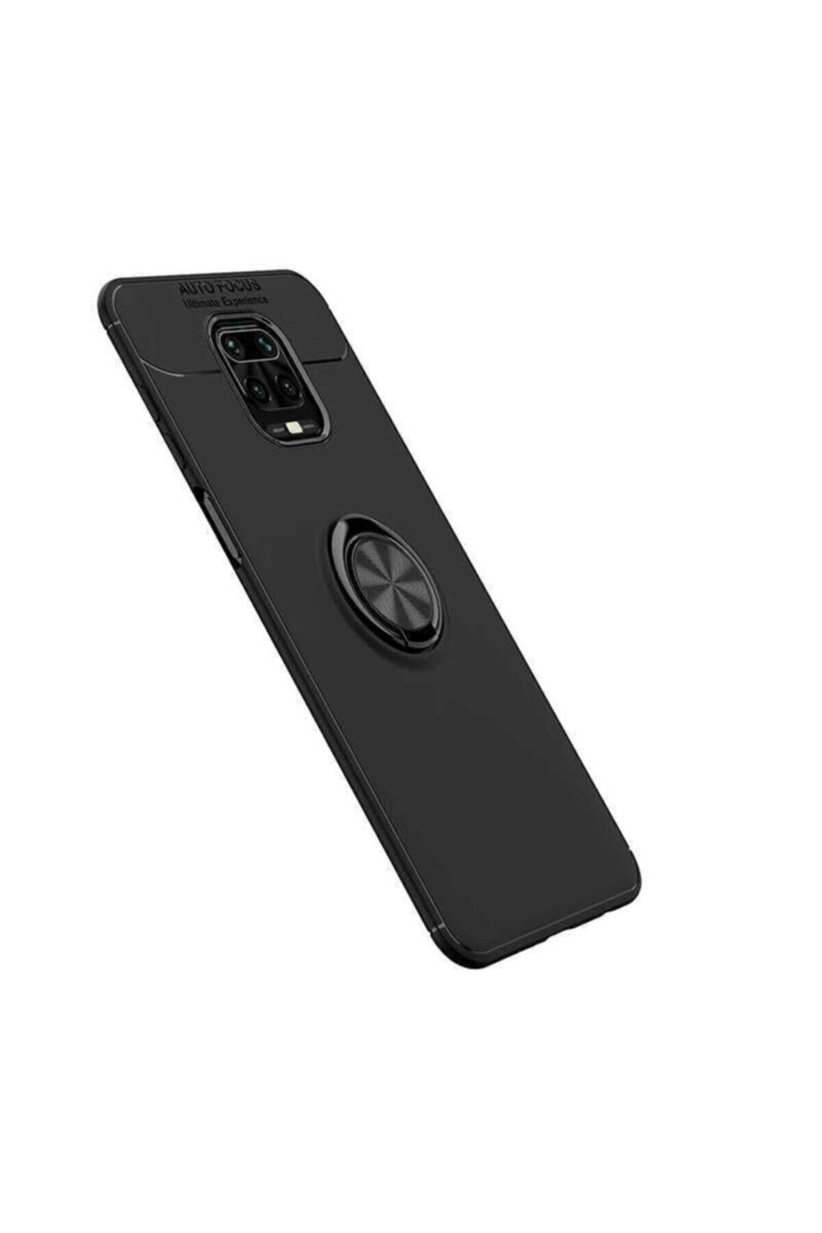 Telefon Aksesuarları Redmi Note 9 Pro Yüzüklü Silikon Kılıf 2