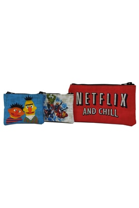MODAZEY Netflix&edi Büdü&avengers Desenli Düzenleyici