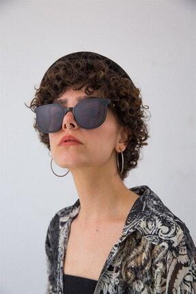 Bilge Karga Kadın Siyah Güneş Gözlüğü