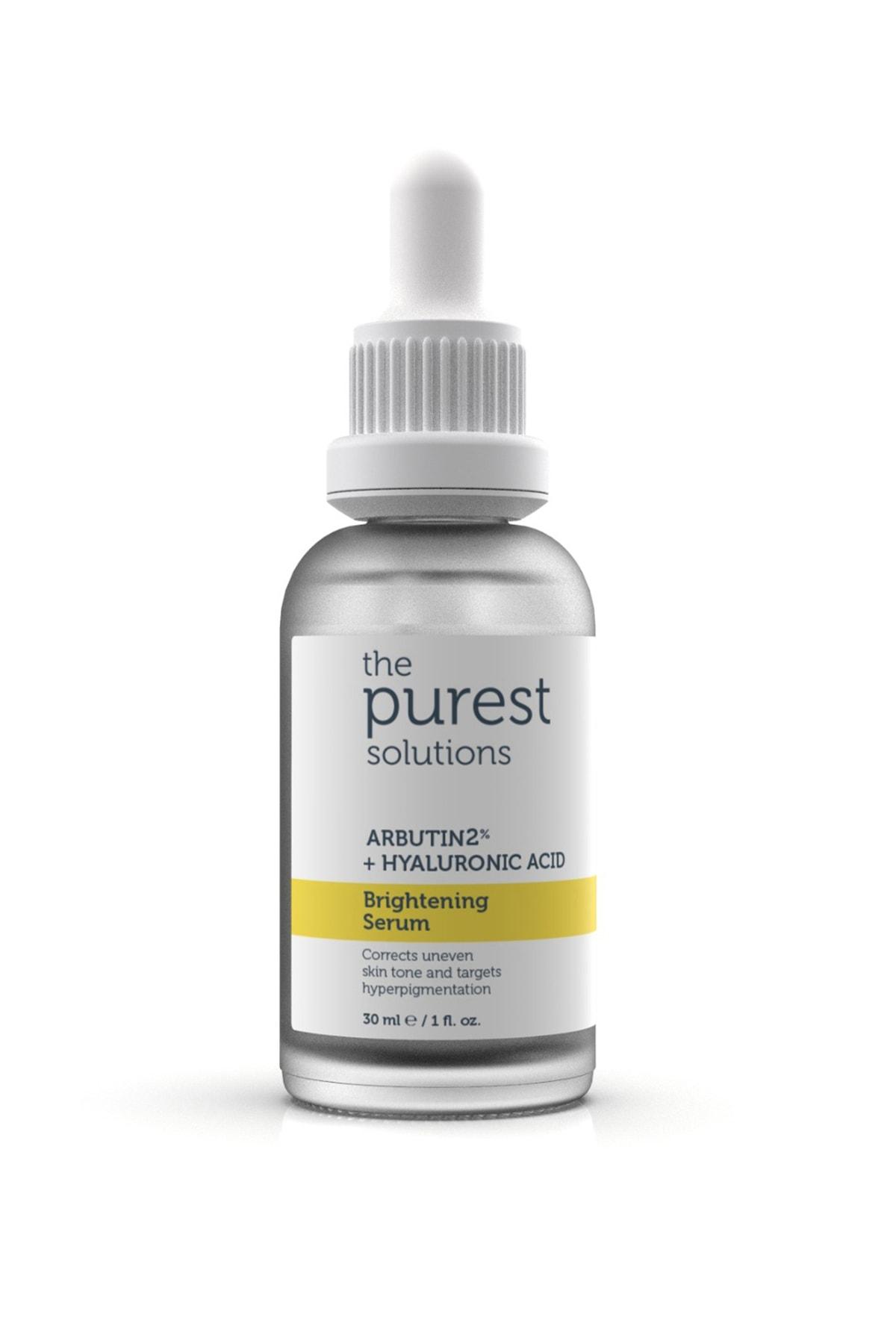 The Purest Solutions Leke Giderici Ve Cilt Tonu Eşitleyici Cilt Bakım Serumu 30 Ml (arbutin %2 + Hyaluronic Acid) 2