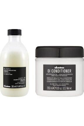 Davines Oi/ Oil Sülfatsız Şampuan 280ml + Kremi 250ml