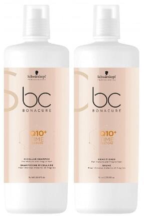 Bonacure Q10 Time Restore Şampuan 1000ml + Krem 1000ml