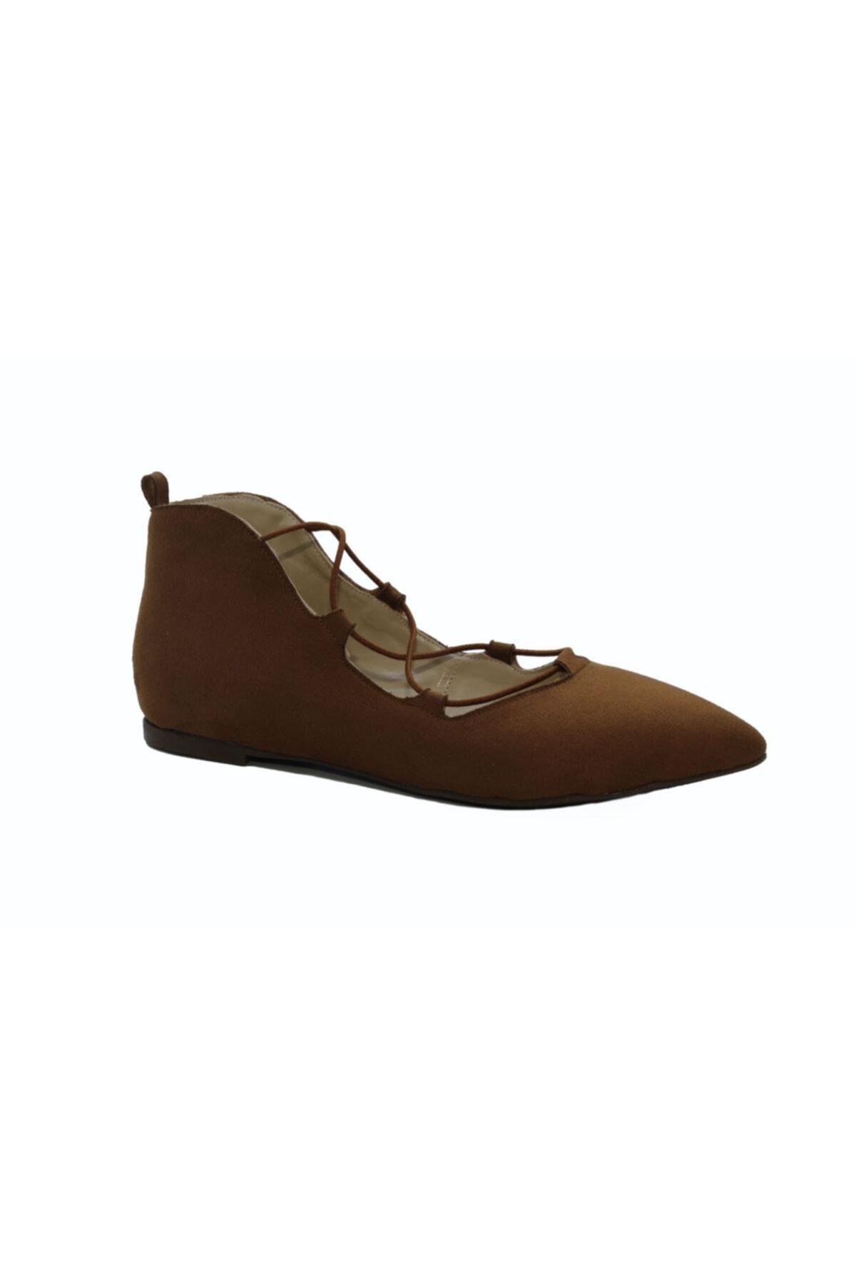 DİVUM Taba Süet Ayakkabı 2
