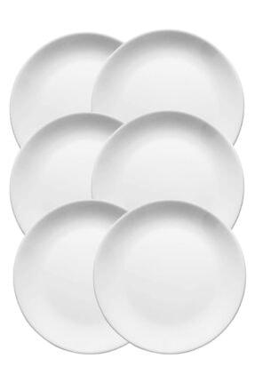 Güral Porselen 6 Adet Servis Tabak Eo 21 Cm
