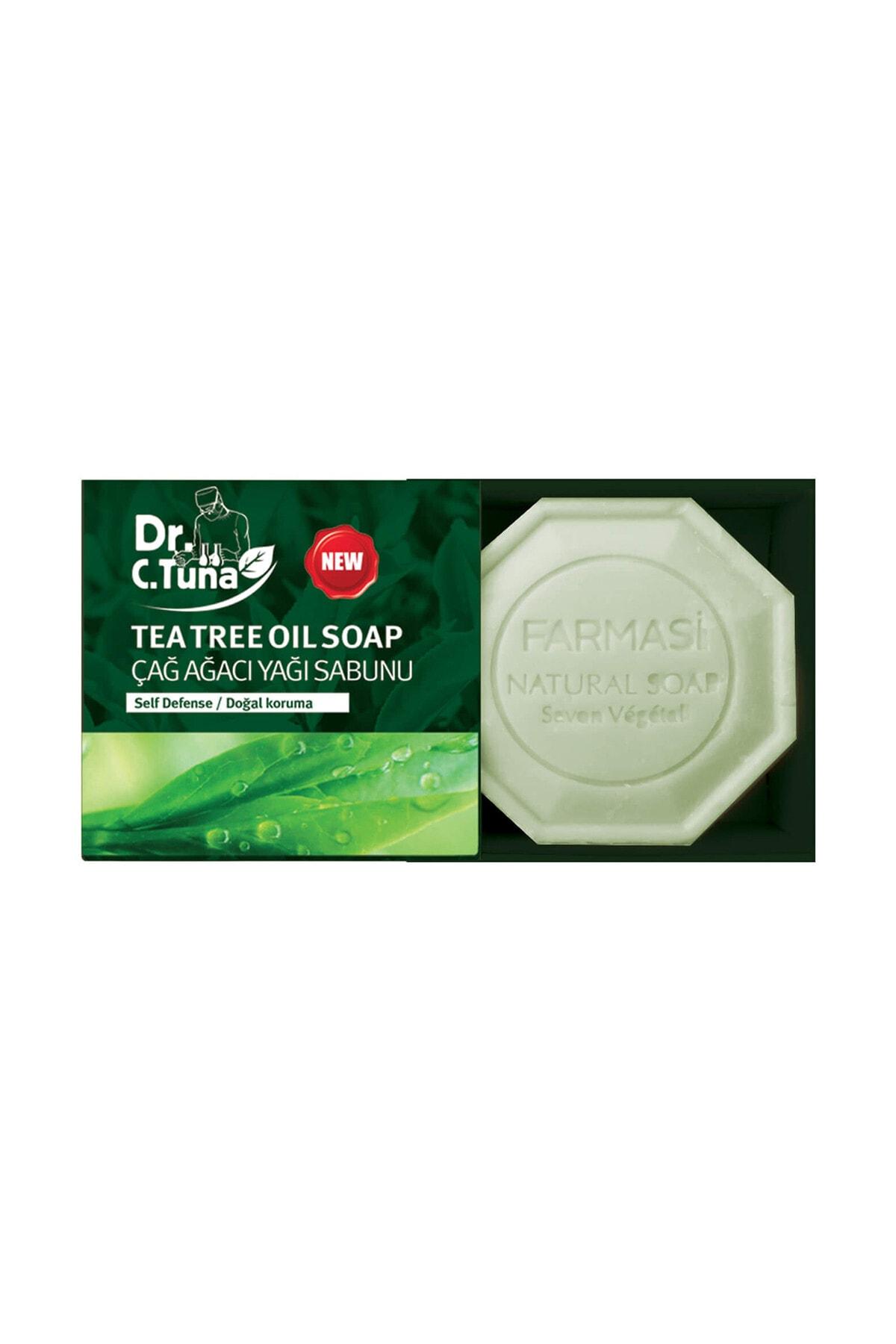 Farmasi Dr. C. Tuna Çay Ağacı Yağı Sabunu 100 gr 8690131104252 1