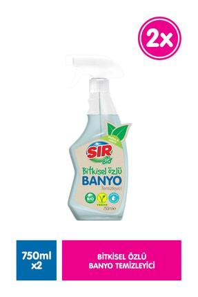 Sır Bio Bitkisel Özlü Banyo Temizleyici 750 Ml 2 Li