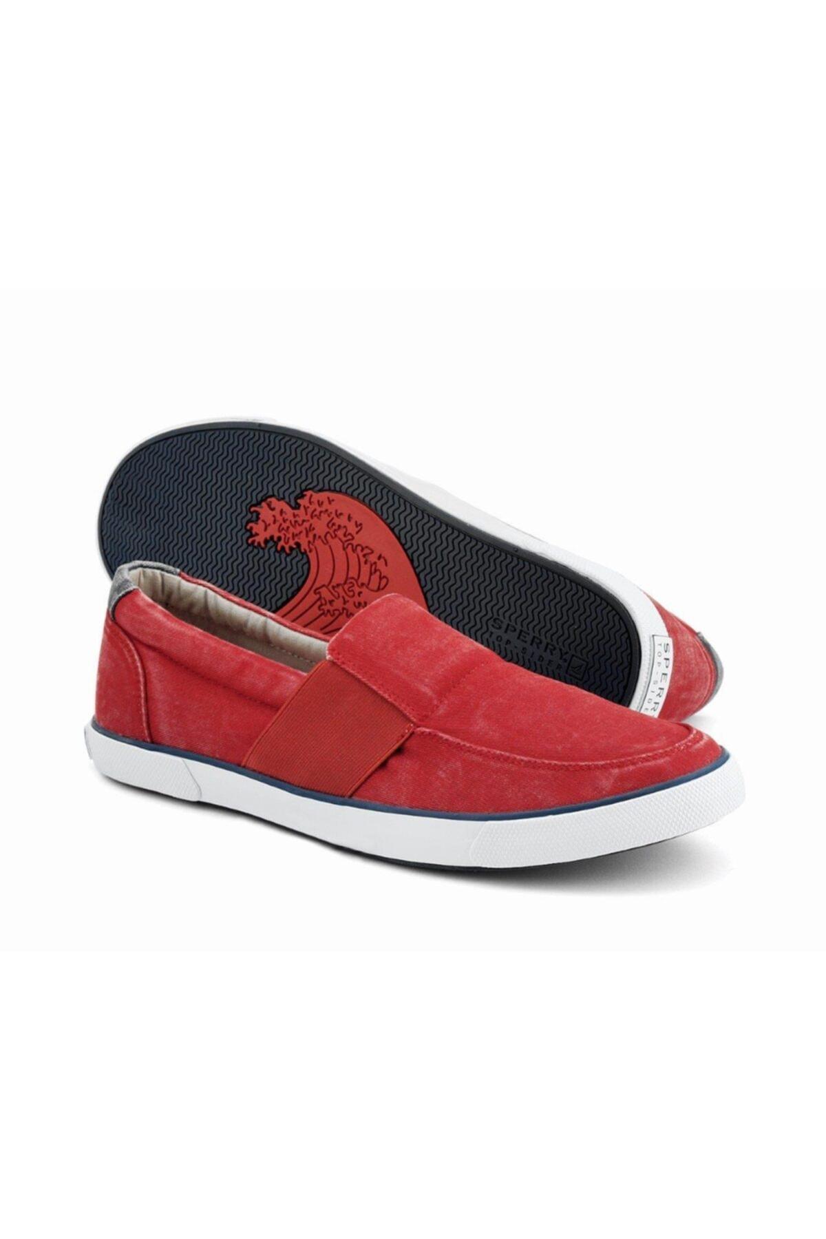 Sperry Top-Sider Erkek Ayakkabı Kırmızı 1