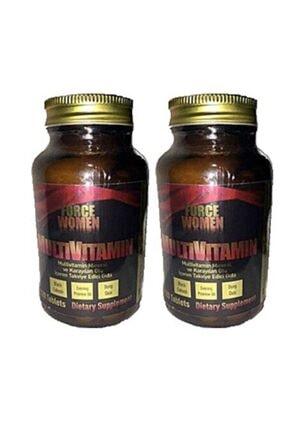 Force Nutrition Force Women (kadın) Multi Vitamin Mineral 120 Tablet 2 Kutu