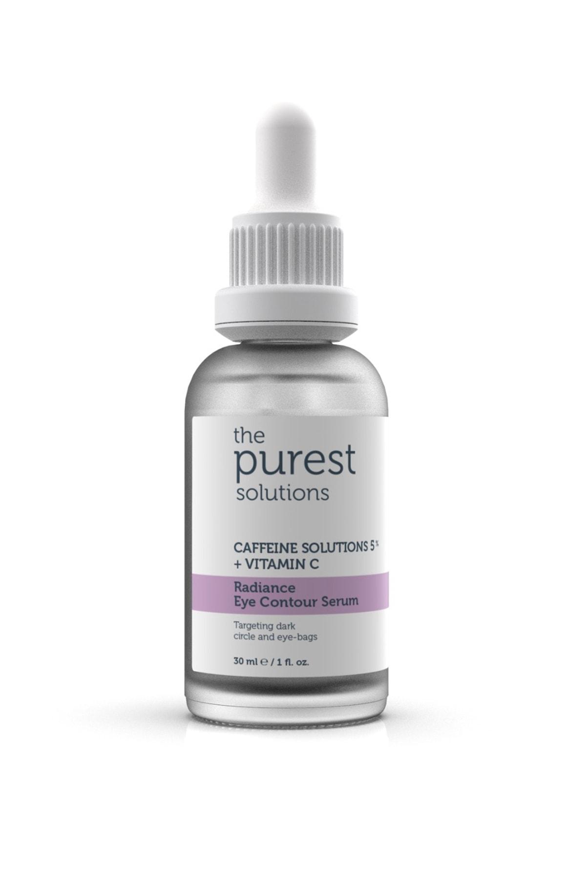The Purest Solutions Göz Altı Torbalanma Ve Morluk Karşıtı Bakım Serumu 30 Ml (caffeine Solutions 5% + Vitamin C) 2