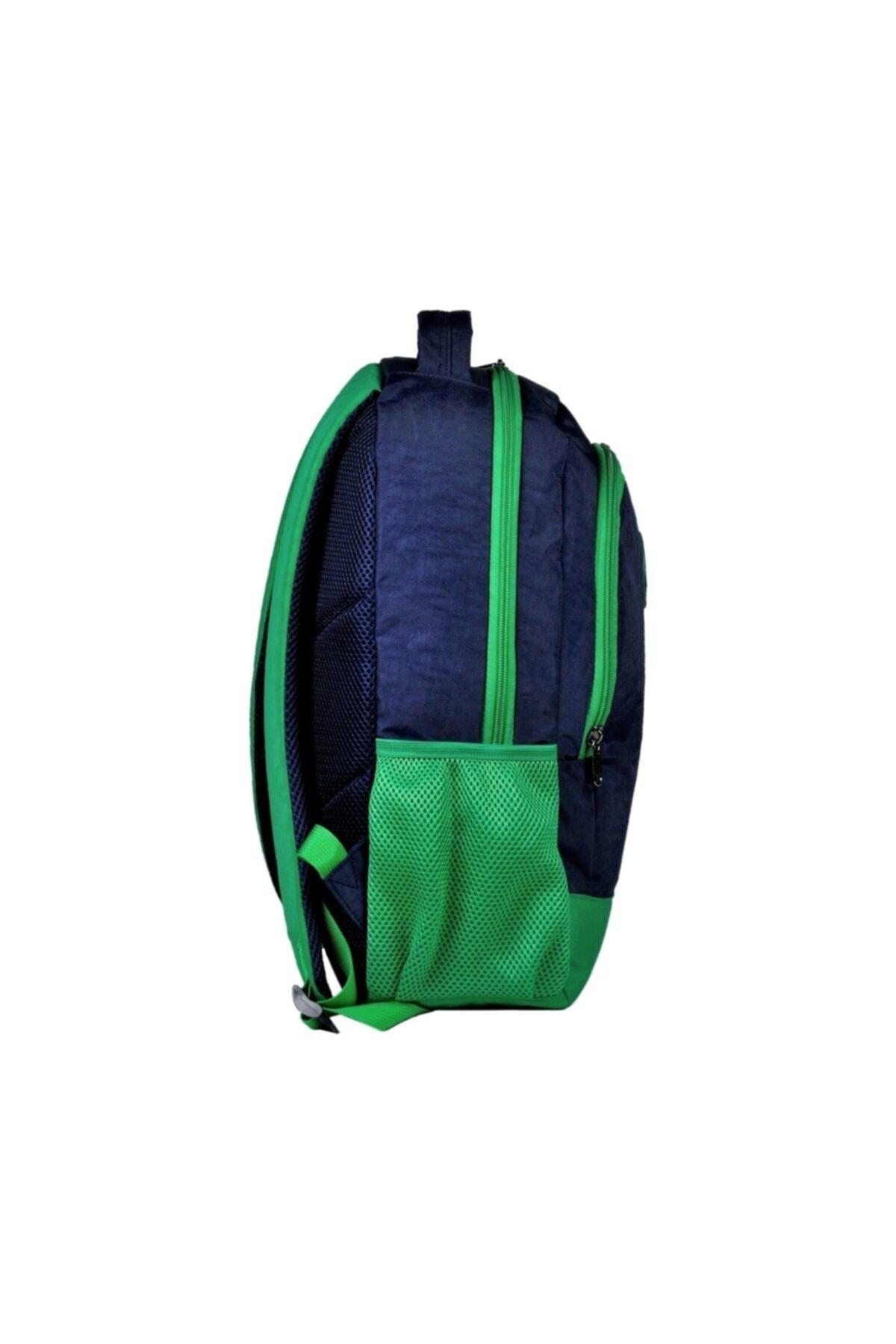 United Colors of Benetton Benetton Lacivert-yeşil Sırt Çantası - Okul Çantası 96014 2
