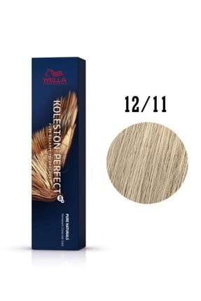 Wella Koleston Perfect Me Extra Füme Sarısı Saç Boyası 12/11 60 ml