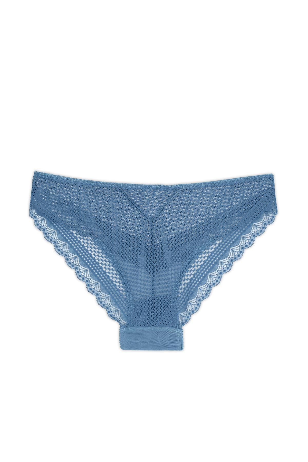 Lela Çelik Mavi Külot Kadın Külot 511M2017K