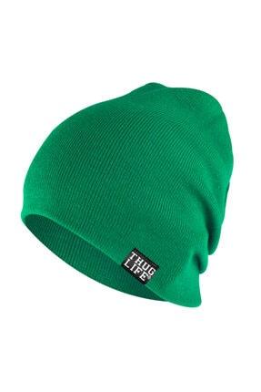 Thug Life Triko Bere Yeşil