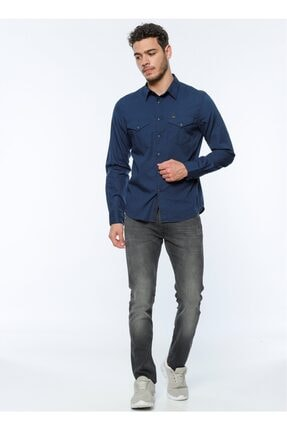 Lee Erkek Siyah Jeans