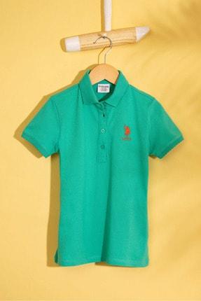 U.S. Polo Assn. Yesil Kız Çocuk T-Shirt Basic
