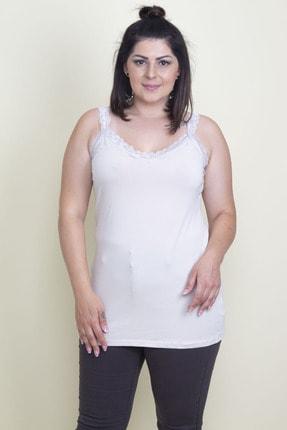 Şans Kadın Taş Dantel Detaylı Bluz