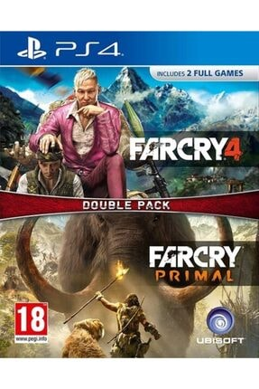 Ubisoft Far Cry Primal Double Pack Ps4, Ps4