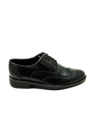Pelikan Erkek Siyah Günlük Rahat Kundura Ayakkabı