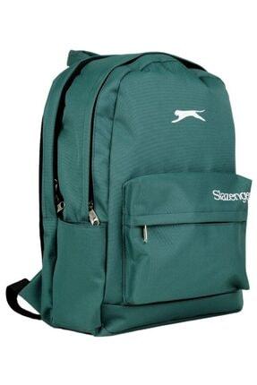 Slazenger Yeşil Üç Bölmeli Okul, Günlük Ve Seyahat Sırt Çantası - 10105