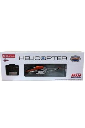 Vardem 68cm 3,5 Kanal Uzaktan Kumandalı Gyro Büyük Boy Helikopter Turuncu