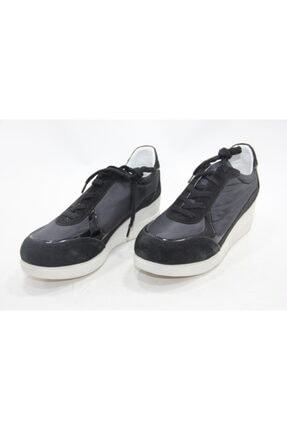 İnci Kadın Siyah Hakiki Deri Spor Ayakkabı