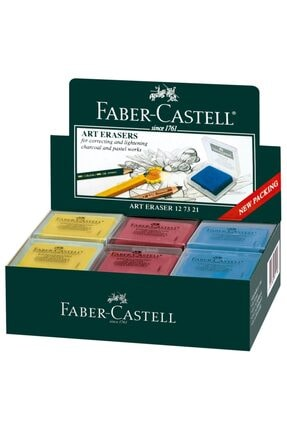 Faber Castell Faber-castell Plastik Kutulu Renkli Hamur Silgi,18 Adet
