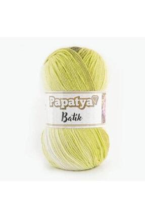 Papatya Batik Örgü İpi