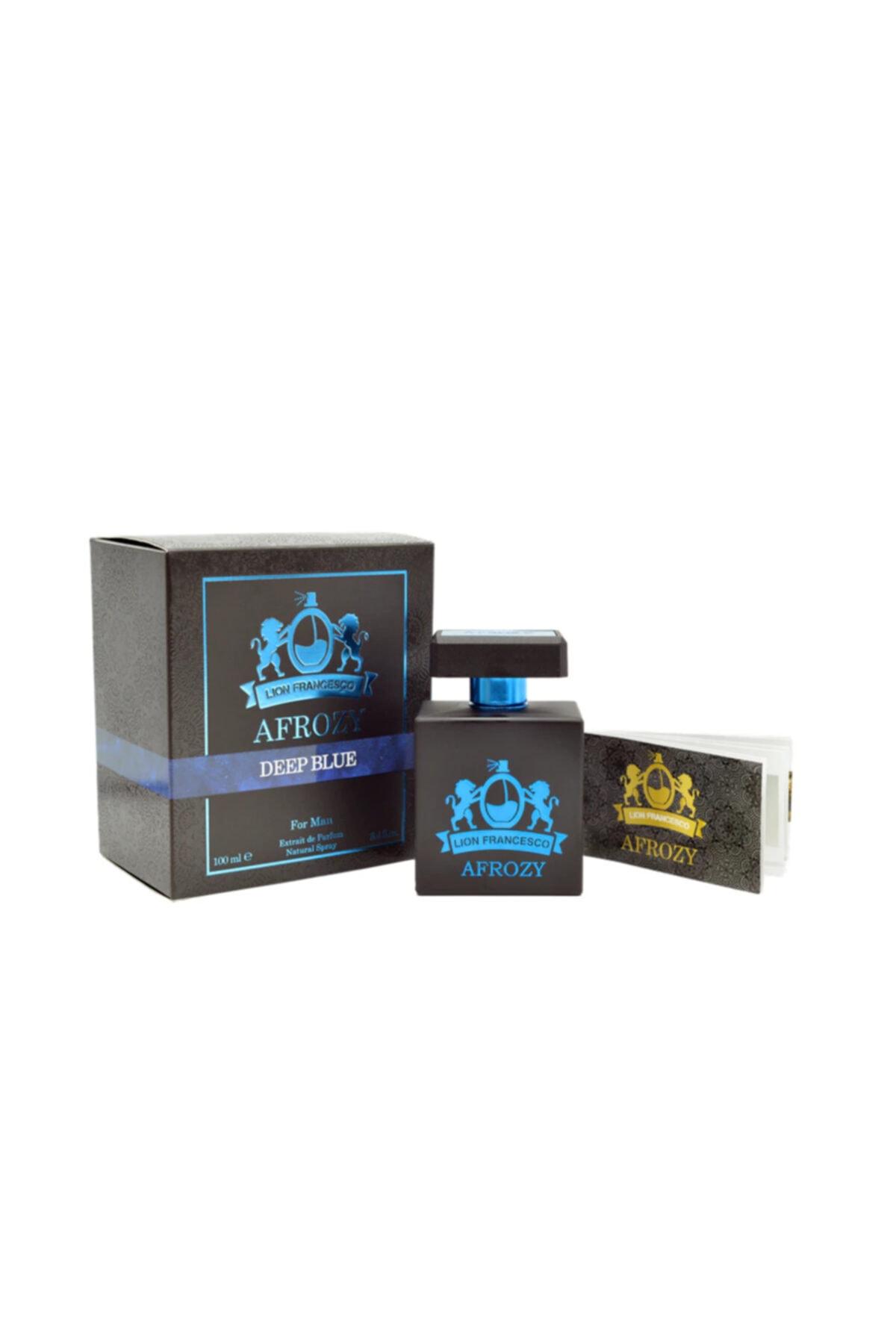 Lion Francesco Afrozy Deep Blue Edp 100 ml  Erkek Parfüm 1