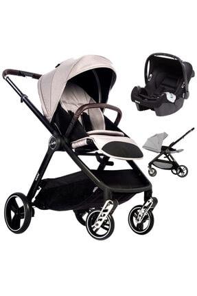 Kanz Xgo Silver Çift Yönlü Travel Sistem Bebek Arabası