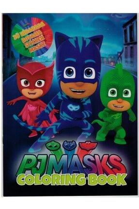 webcenter Pjmask - Pijamaskeliler Boyama Kitabı + Sticker +maske Süper 3 Lü