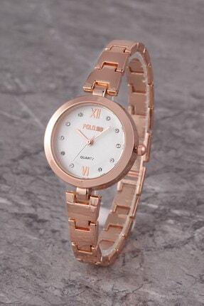 Polo55 Plkm011r02 Kadın Saat Taş Detaylı Kadran Şık Metal Kordon