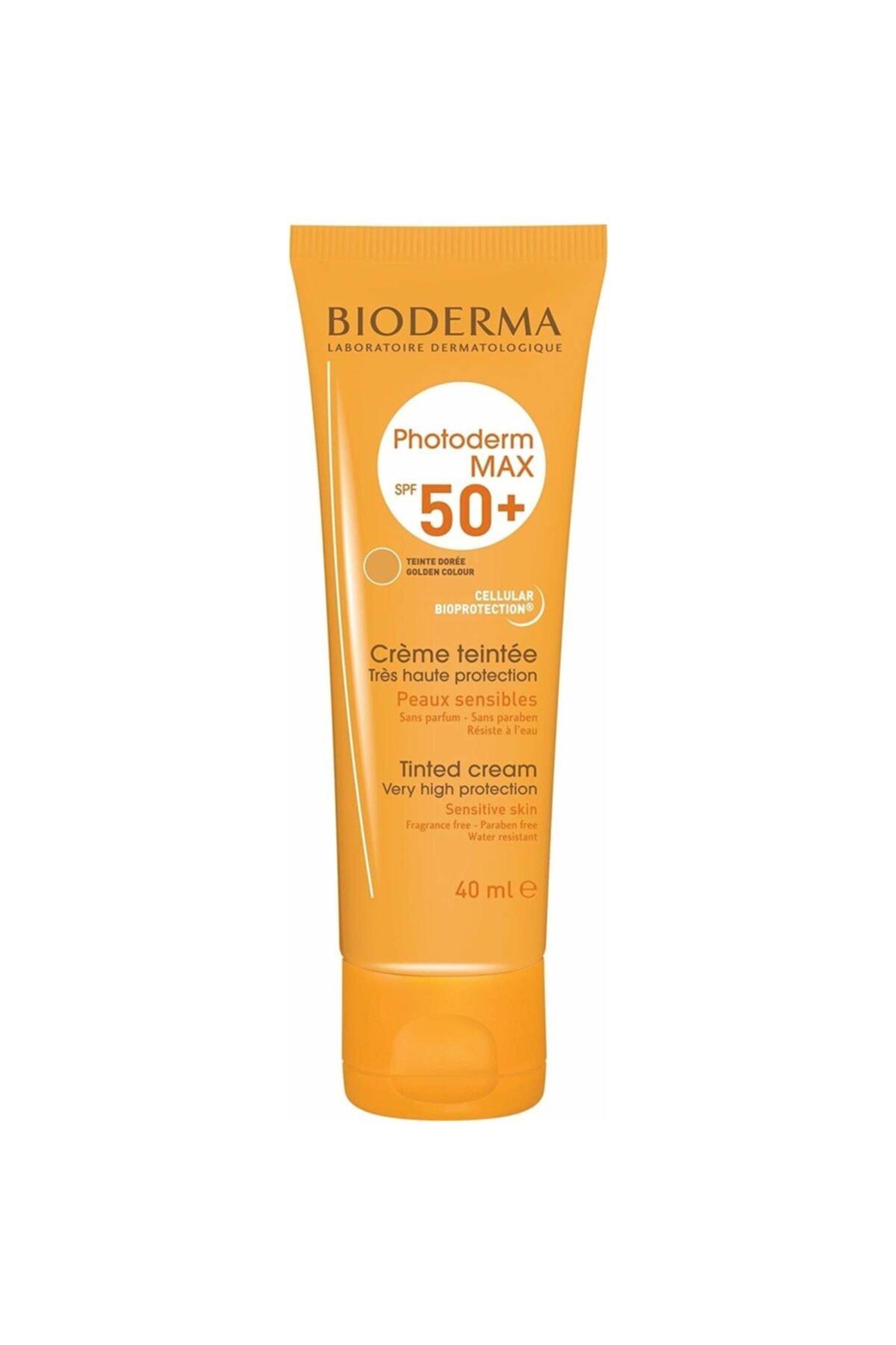 Bioderma Bıoderma Photoderm Max Tinted Cream 40 Ml (spf50+ Uva 38) 1