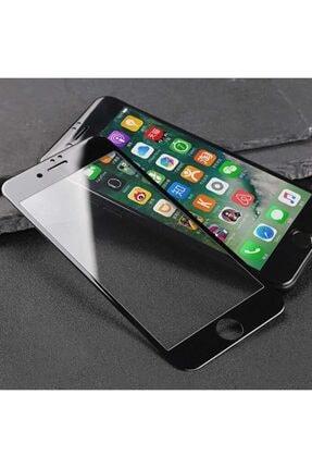 AZR Iphone 6 Plus 6d Siyah Ekran Koruyucu Tam Kaplama Kırılmaz Cam