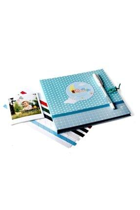 Nobbystar Erkek Bebek Uykucu Anı Kitabı + Jel Kalem + Bant