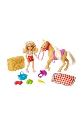 Barbie Sweet Orchard Farm Çiftçi Chelsea Bebeği ve Atı Oyun Seti GFF50