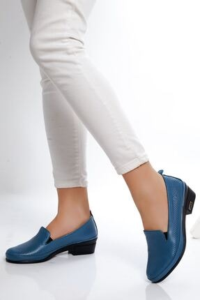 derithy -klasik Ayakkabı-kot Mavi
