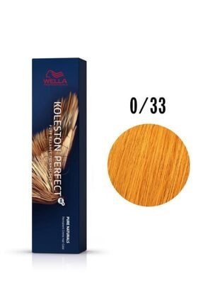 Wella Koleston Perfect Me+ 0/33 Extra Altın 60 ml